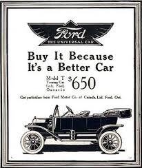 Model T Ford - Better Car Graphic