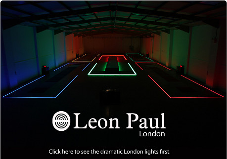 Leon Paul Light Up London Olympics 2012