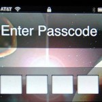iPhone Enter Passcode