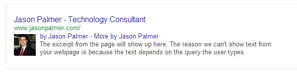 Google Authorship-Jason Palmer Demo 130731