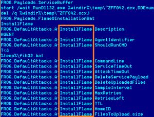 Flame Virus Name Origin Screen Shot