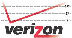 Verizon Data Tiered Graph