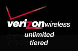 Verizon Wireless Unlimited Tiered Data
