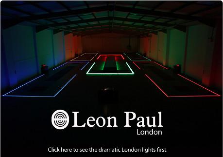 Leon Paul Light Up London Olympics 2012