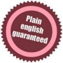 Plain English Guaranteed