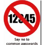 No Common Passwords