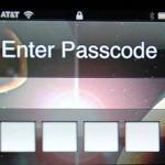 iPhone Enter Passcode