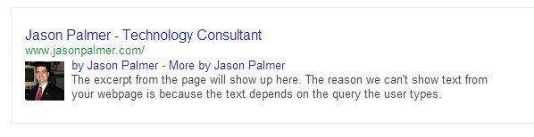 Google Authorship-Jason Palmer Demo 130731